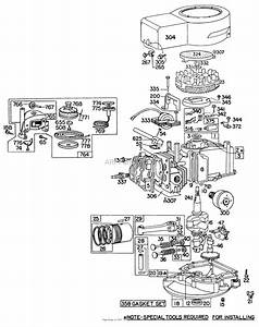 Briggs And Stratton 4 5 Hp Engine Diagram