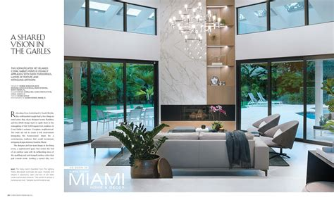 Home Interior Design Articles by Coral Gables Design By Dkor Featured On Miami Home Decor
