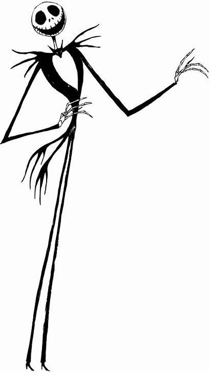 Skellington Jack Clipart Clip Sally Nightmare Christmas
