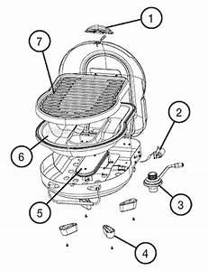 Coleman 2000001493 Parts List And Diagram