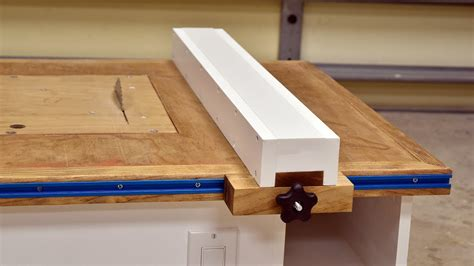 make a table saw table make a table saw fence peiranos fences best ideas for