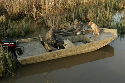Grizzly Boats 1860 by Research Tracker Boats Grizzly 1860 Sc Blind Duck Hunting