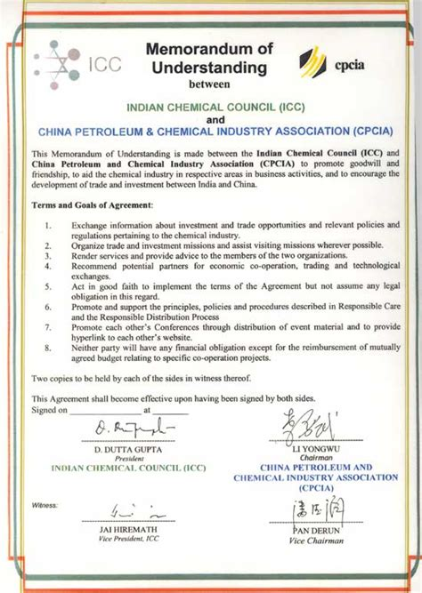 mou form   printable documents