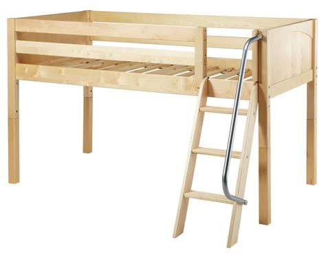 maxtrix loft bed maxtrix low loft bed w angle ladder size