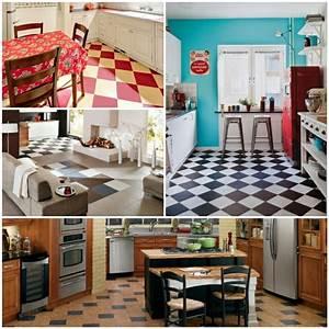 Welche Fliesen Für Küchenboden : bodenbelag k che das schachmuster als ein klassiker aus alten zeiten ~ Sanjose-hotels-ca.com Haus und Dekorationen