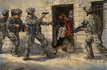 Military Forces Special Dog Industrial Army Operation