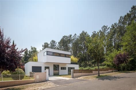 Moderne Häuser Frankreich by Sch 246 Nes Modernes Haus In Frankreich Vor Einer Waldkulisse