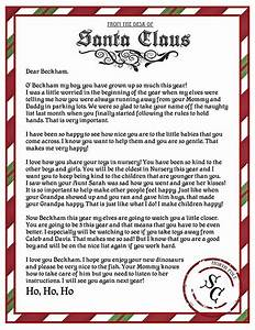25 best ideas about letter from santa template on With best santa letters