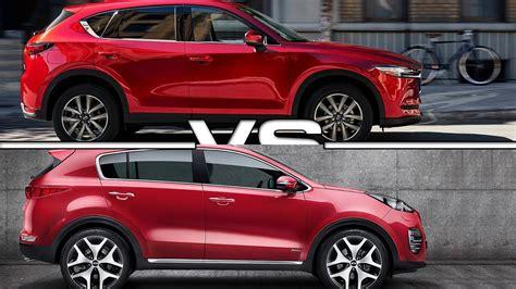 2017 Mazda Cx-5 Vs 2017 Kia Sportage