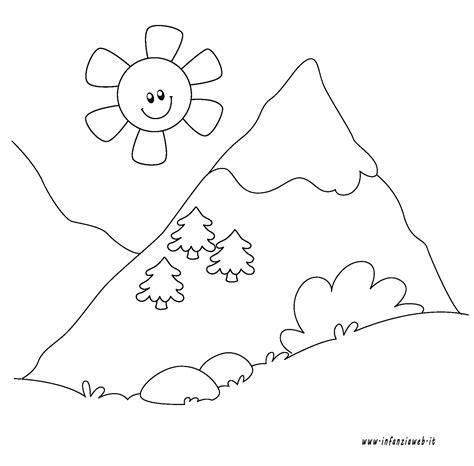 disegni da colorare categoria ambiente  paesaggi immagine