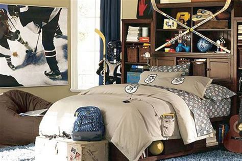 Decorating Ideas For Hockey Bedroom by 18 Unique Hockey Bedroom Design Ideas For Guys