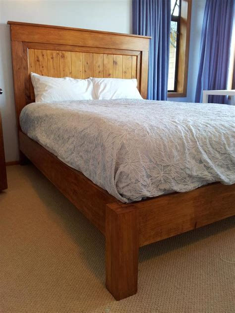 ana white fancy farmhouse bed diy projects