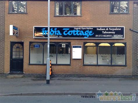Cottage Takeaway by India Cottage 4a Ayston Road Uppingham Oakham