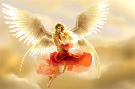 wallpaper love image heart  angel stock images