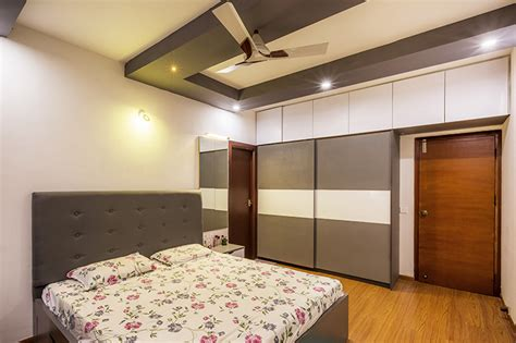 sliding door wardrobe interior designers  bangalore