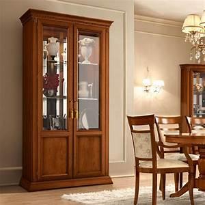 Wood Glass Cabinet - [peenmedia com]