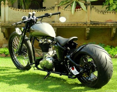 Modified Bikes Images by Pictures Of Modified Royal Enfield Gaadikey