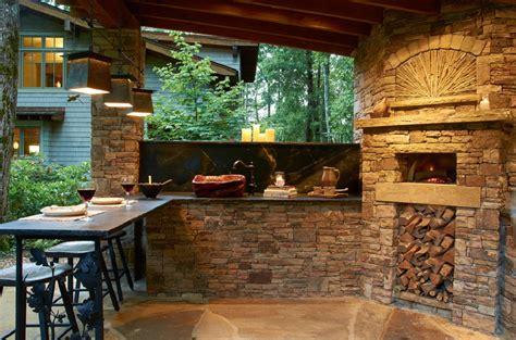 rustic outdoor kitchen designs rustic patio ideas 5016