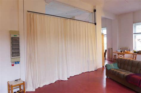 Raumteiler Dachschräge Vorhang by Vorhang Als Raumteiler K 220 Hn Design Metall