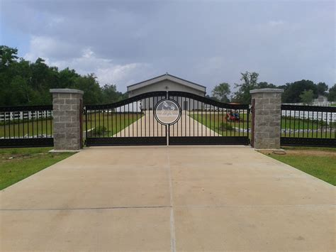 residential fences and gates decorative residential wrought iron gates milton fence company milton fence company