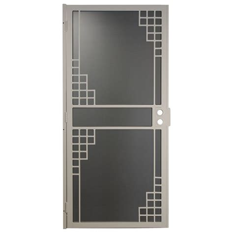 lowes security doors security doors lowes gatehouse steel surface mount