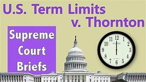 Can Congress Have Term Limits