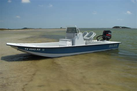 Majek Boats Used by Research 2014 Majek Boats 18ft Redfish On Iboats
