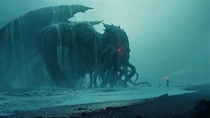 Sea Cthulhu Monster Creature