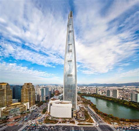 Seoul South Korea Lotte World Tower