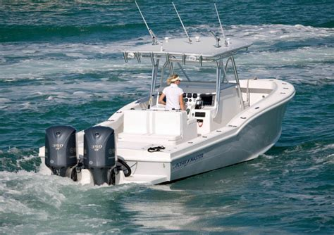 Ocean Fishing Boat Types by Research Ocean Master Marine 336 Center Console On