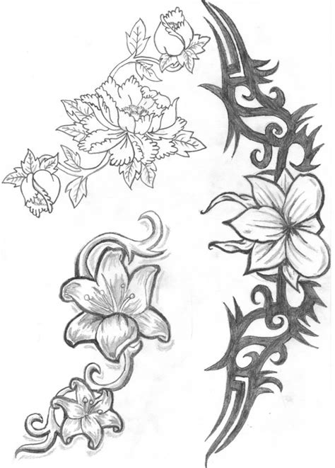 Free Pictures Of Flower Drawings, Download Free Pictures