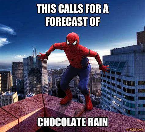 Chocolate Rain Meme - chocolate rain 60 s spider man know your meme