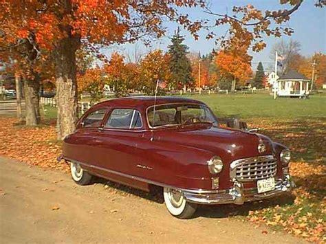 1950 Nash Statesman Super, 6 cyl., 2 dr. Sedan.