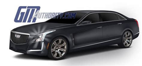 Cadillac Ct6 Rendering by 2016 Cadillac Ct6 To Be Shown March 31 Gm Authority