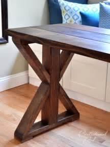 DIY X Leg Table Base