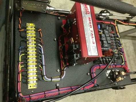 Dragster Wiring American Race Cars Stacy Camaro Build