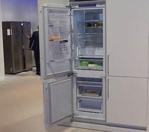 Refrigerateur Pose Libre Dans Une Niche : samsung d voile un r frig rateur encastrable enti rement nofrost les num riques ~ Melissatoandfro.com Idées de Décoration
