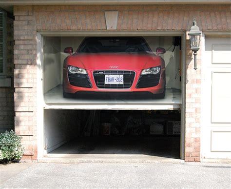 garagen rolltore individuelle gestaltung mit  wandstickern