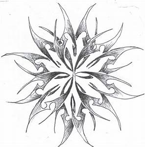 87480200dd309 the tribal snowflake by megaphonnic on DeviantArt