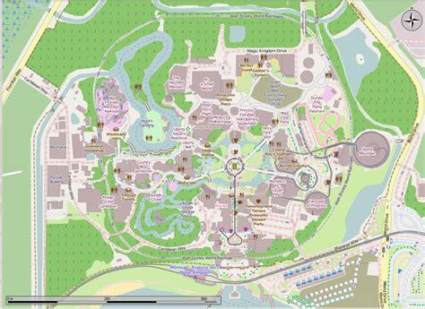 file walt disney world open street map png wikimedia commons