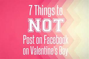 WHEN LIFE GIVES YOU RUBI: 7 Things to NOT Post on Facebook ...