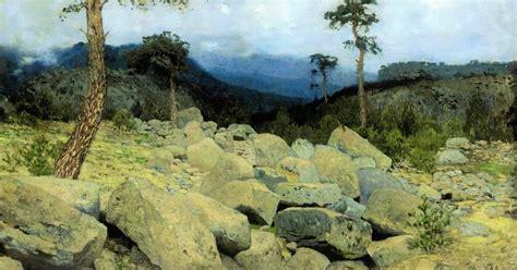 In the Crimea Mountains, 1886 - Isaac Levitan - WikiArt.org