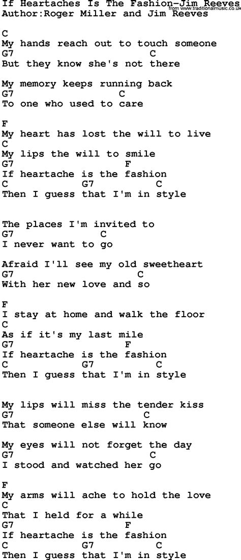 country musicif heartaches   fashion jim reeves