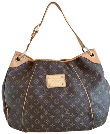 louis vuitton galliera gm brown monogram canvas hobo bag