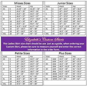 Fabric Measurement Conversion Chart Ladies Pencil Dress Pencil Skirt Standard Size Chart Us