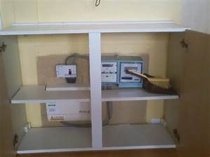 Electric Meter And Fuse Box In The Living Space