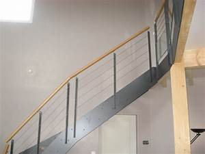 Main Courante Escalier Intérieur : garde corps sur escalier interieur main courante ronde en bois drome ~ Preciouscoupons.com Idées de Décoration