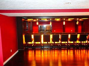 cool basement bar ideas modern basement cleveland With fun basement basement bar ideas