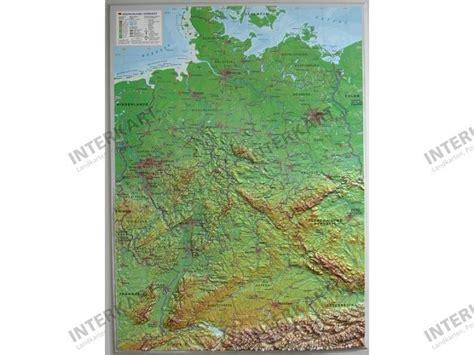 reliefkarte deutschland klein  reliefkarten