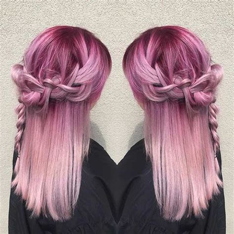 21 Pastel Hair Color Ideas For 2019 Page 4 Foliver Blog